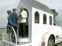 авто-загс, свадебный бизнес на колесах