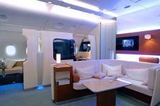 частный самолет с жилым пространством
