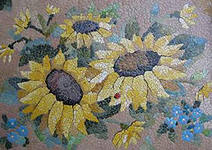 хэнд-мэйд сувенир: мозаика из яичной скорлупы