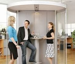 специальные кабинки для курящих, как идея бизнеса