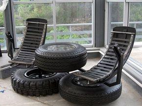идея бизнеса, мебель из автомобильных покрышек, от обычной до элитной