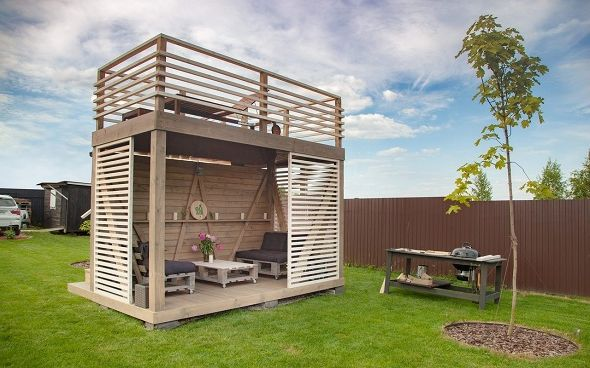Идея бизнеса, строительство, продажа и монтаж двухэтажных беседок, фото 2