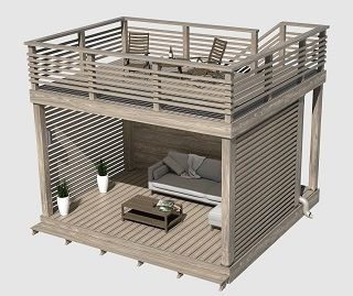 Идея бизнеса, строительство, продажа и монтаж двухэтажных беседок