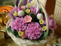 делаем цветы из мыла, составим конкуренцию тайцам